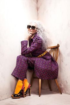 Love this look! Daphne Selfe - Photographed by Brendan Freeman