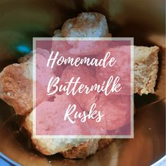 I swear, this is something I've been threatening to try and bake since forever – buttermilk rusks. I adore rusks. Buttermilk Rusks, Cultured Buttermilk, Buttermilk Recipes, Homemade Buttermilk, Rusk Recipe, Dried Blueberries, British Baking, Food Words, Blue Berry Muffins