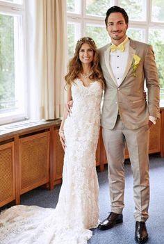 Rote Karte: Mats Hummels' Hochzeits-Outfit stößt nicht bei allen auf Begeisterungs-Stürme.