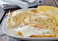 Omelette, Frittata, Crepe Sale, Wine Recipes, Vegan Recipes, Breakfast Recipes, Dessert Recipes, Banana Pudding Recipes, Crepe Recipes