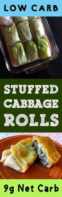 "This Low Carb Stuffed Cabbage Roll recipe is Low Carb, Keto, Paleo, THM, Atkins, Banting, LCHF, Sugar Free and Gluten Free. In Pittsburgh, we call these babies ""halupki""."
