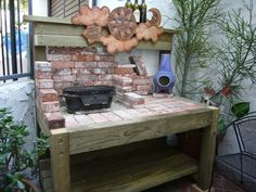 """Table for my Weber 22"""" OTG - The BBQ BRETHREN FORUMS."""