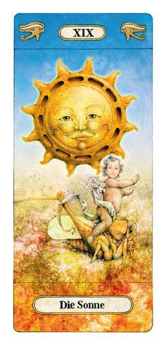 The Sun - Reinhard Schmid's Tarot