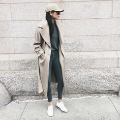 How to Style a Duster Coat | POPSUGAR Fashion