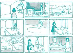 storyboard about 'Plug-In' by María Perales