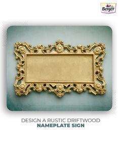 Create your nameplate sign with a unique rustic backdrop. Bold white letters will give a bold and eye-catchy look to this sign. A perfect handcrafted home decor for summer.