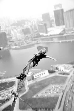 ✔ Bungy Jump ~ Bachelorette Bucket List. #bachelorette #idea