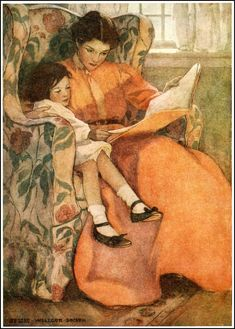 A Rainy Day - Dream Blocks by Aileen Cleveland Higgins; Published 1908 by Duffield
