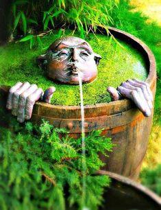 Bellissime fontane per il giardino più vivace