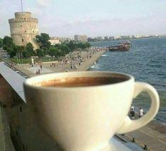 Joe Coffee, Real Coffee, Coffee Time, Morning Coffee, Coffee Shop, Coffee Drinks, Coffee Cups, Macedonia Greece, Greece Thessaloniki