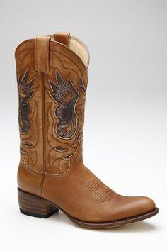 Bruine Sendra Boots western · Online schoenen, damesschoenen, herenschoenen, merkschoenen en accessoires · ShoeLine