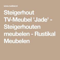 Steigerhout TV-Meubel 'Jade' - Steigerhouten meubelen - Rustikal Meubelen