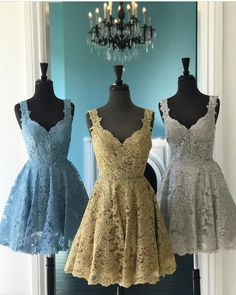 Charming Prom Dress, Lace Prom Dress,Elegant Prom Party