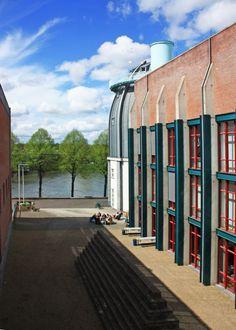 Bonnefantenmuseum, Maastricht, Zuid-Limburg.