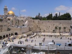 Israel - The wailing wall (aka: western wall). One of my prayers was placed there and He heard. Thank you God.
