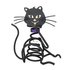 Have you see the new Skeletal kitty? Use a tealight or votive to make it look like the eyes glow. Great gift for the cat lover only $20. For more information go to http://www.partylite.biz/JulieHoyman #gifts #halloween #partylite