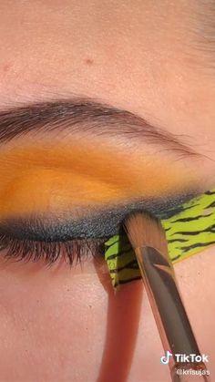 Eye Makeup Steps, Eye Makeup Art, Eyeshadow Makeup, Makeup Brushes, Hair Makeup, Beauty Makeup, Maquillage On Fleek, Wedding Eye Makeup, Makeup Tutorial Eyeliner