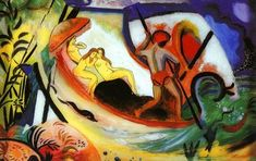 August Macke German Expression!!!ist 3 January 1887 - 26 September 1914 August Macke - Woma...