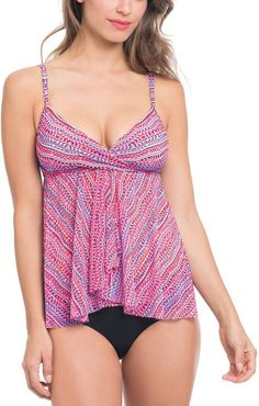 1bc8ac3c1500d Profile by Gottex Gottex Profile Printed Flyway Tankini Tankini Swimsuits  For Women