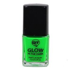 QT Glow In The Dark Neon Nail Lacquer Nail Polish ($6.5)