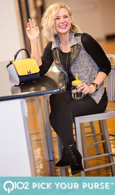 Jessica Simpson - Gina Crossbody. Go to wkrq.com to find out how to play Q102's Pick Your Purse!