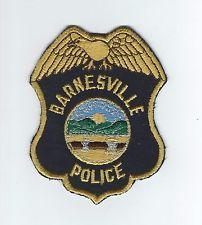 VINTAGE  BARNESVILLE, OHIO POLICE patch