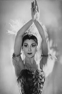 Margot Fonteyn in The Firebird 1954