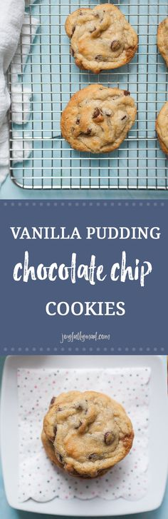 Chocolate chip cookies are a classic dessert that everyone has a recipe for, but these chocolate chip cookies have a very special ingredient that makes these the BEST chocolate chip cookies ever! These cookies have all of the classic ingredients with the addition of vanilla pudding mix! It's a combination you have to try for yourself. Serve them with a glass of milk and enjoy a handful of these gooey Vanilla Pudding Chocolate Chip Cookies.