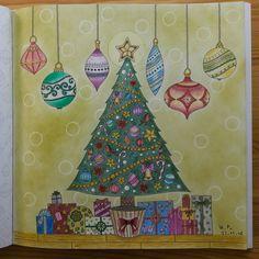 Mein wundervolles Weihnachtsfest / Johanna Basford Johanna's Christmas
