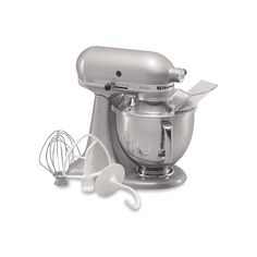 KitchenAid KSM150PS Artisan 5-qt. Stand Mixer, Grey Discover how you'll be able to get the best stand mixer for your kitchen @ http://smallappliancesforkitchen.net