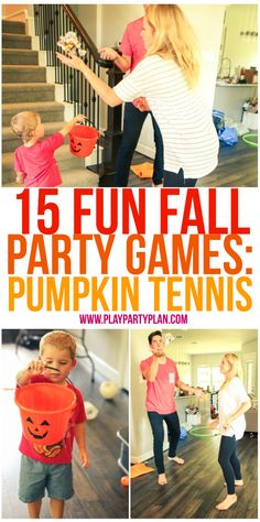 explore fall party games