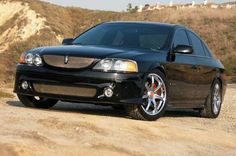 Nice black Lincoln LS