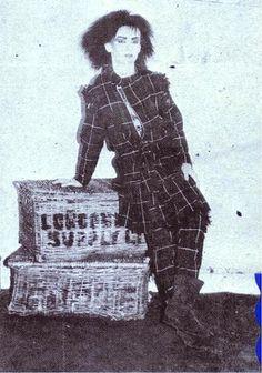 Circa 1977 - boy george in vivienne westwood