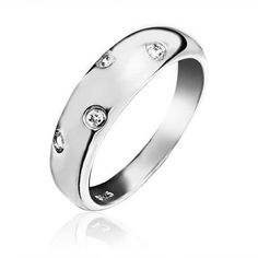 Bling Jewelry Sterling Silver Single Etoile CZ Band Ring * Find out more about the great product at the image link.(This is an Amazon affiliate link and I receive a commission for the sales)