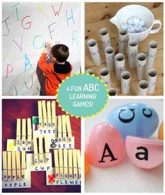 Fun Games to Learn ABCs!