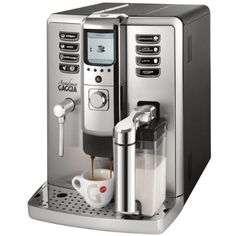 What is a super automatic espresso machine, explained. Learn everything there is to learn about super automatic espresso machine. Also included is list of top super automatic espresso machines. Gaggia Espresso Machine, Home Espresso Machine, Espresso Machine Reviews, Automatic Espresso Machine, Espresso Maker, Espresso Coffee, Espresso Cups, Coffee Box, Best Coffee