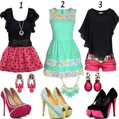 Loves this outfits,  perfect for summertime