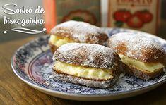 PANELATERAPIA - Blog de Culinária, Gastronomia e Receitas: Sonho de Bisnaguinha