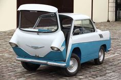 Smyk- a 1957 1 cylinder Polish prototype Microcar, Automobile, Weird Cars, Sweet Cars, Unique Cars, Cute Cars, Small Cars, Car Humor, Amazing Cars