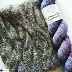 Hello! I love this cowl so much💜 Repost @soul_yarn:    When purple and olive combine 🍆🍈🍆🍈🍆  This is the beautiful 'Golightly' Cowl by Paula Wiśniewska @polkaknits Knit in our gorgeous Nurturing Fibres Sock held double with our Cowgirlblues Kidsilk. Stunning effect on another amazing test knit by @ctashc 🍆🍈🍆🍈🍆  #nurturingfibres #sockyarn #supertwistsock #merino #handdyedyarn #cowgirlblues #kidsilk #laceyarn #mohairyarn #knitting #knittersofinstagram #knittinglove #polkaknits…