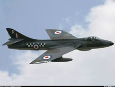 Hawker Hunter, one of the most beautiful airplanes ever made in my opinion.