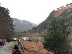Wandeltocht door het prachtige Nationale Park Wicklow Mountains. Een gedeelte dan deze bergketen is beschermd natuurgebied en de hoogste berg in deze keten is Lugnaquilla, met 925 meter.