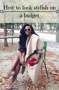 It is not that difficult to look stylish and to make your outfits seem much more expensive than they really are. Check out YouQueen.com for a detailed guide.