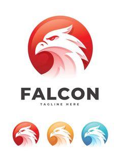 Falcon Logo Template AI, Vector EPS