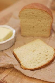 King Arthur Flour's recipe for Homemade White Sandwich Bread. #yum