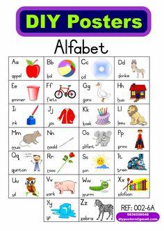 A5 Stel Van 26 Alfabet Met Prente Preschool Worksheets, Preschool Learning, Teaching, Paw Patrol Coloring, Lego Cake, Afrikaans, Kids Education, Speech Therapy, Handsome Boys