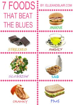 7 Foods That Beat the Blues!