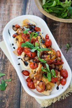 30-Minute Tomato, Basil, and Balsamic Chicken (30-Minute-Mondays!)