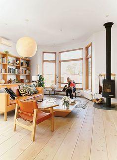 My scandinavian Home - John Baker and Juli Daoust Victorian Toronto apartment, located above their shop Mjölk