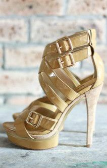 Bebe beige strappy sandals